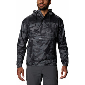 Columbia Challenger Windbreaker Jacket Men black trad camo/black